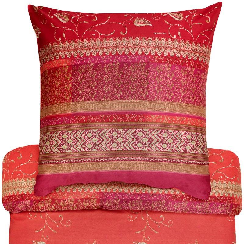 bassetti bettw sche mako satin bernina rubinrot. Black Bedroom Furniture Sets. Home Design Ideas