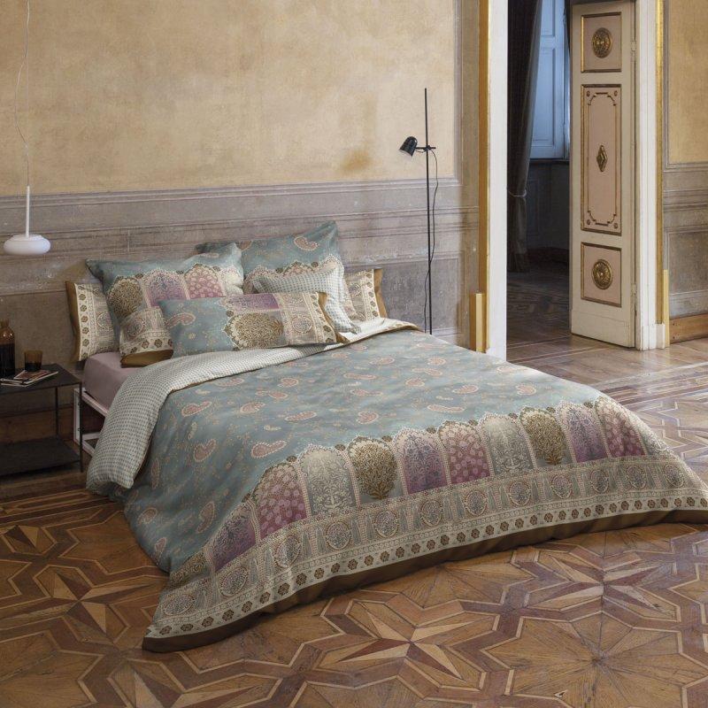 bassetti bettw sche mako satin jaipur bleu. Black Bedroom Furniture Sets. Home Design Ideas