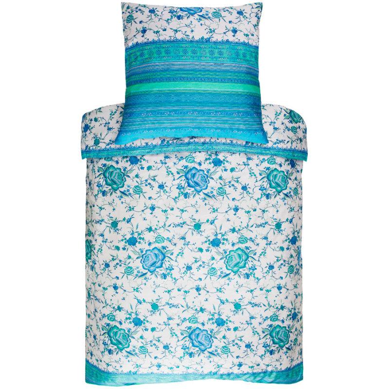 bassetti bettw sche mako satin porticciolo gr n mit blau und t rkis. Black Bedroom Furniture Sets. Home Design Ideas