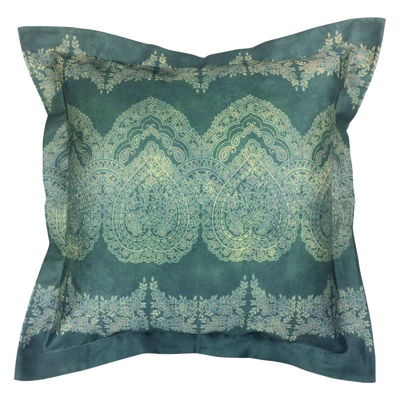 bassetti kissen mako satin brunelleschi v4 neues gr n. Black Bedroom Furniture Sets. Home Design Ideas