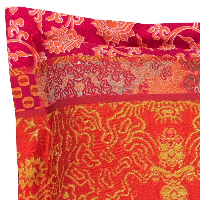 bassetti bettw sche mako satin kissenbezug 40x40 cm lacca v8 rot pink. Black Bedroom Furniture Sets. Home Design Ideas