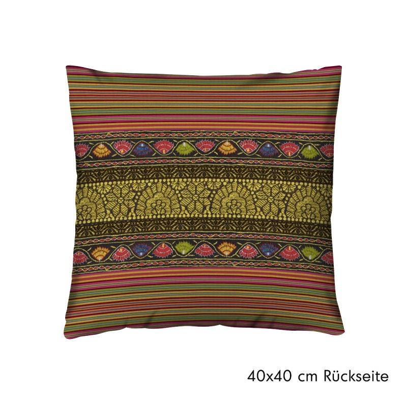 bassetti kissenh lle geflammt cervino karminrot 40x40 und 60x60 cm. Black Bedroom Furniture Sets. Home Design Ideas