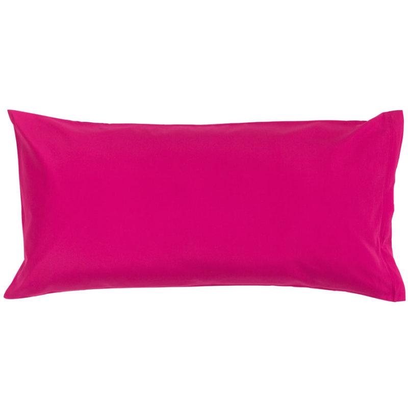 Bassetti Kissen Uni Bettwäsche Fuchsia Pink 40x80 Cm